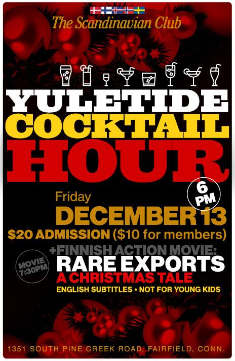Yuletide Cocktail Hour