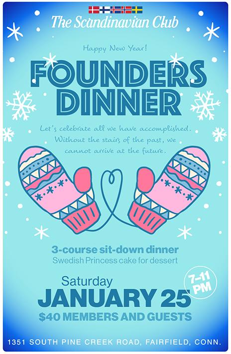 Founders Dinner Jan 25